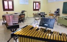Aula de percusión